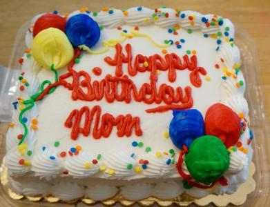 母亲的生日蛋糕