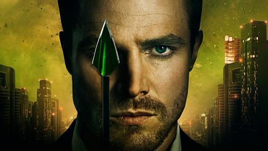 演员史蒂芬·艾梅尔在系列绿箭6季