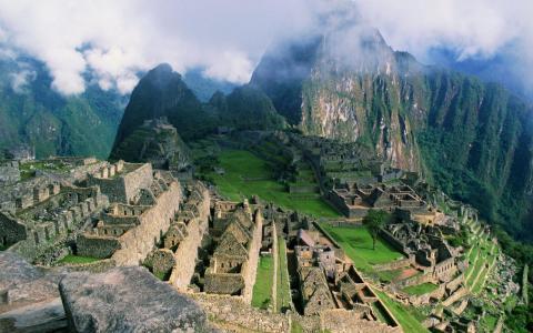 在秘鲁的古城