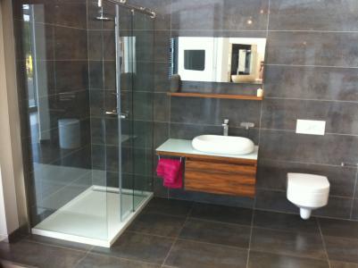 淋浴和洗脸盆