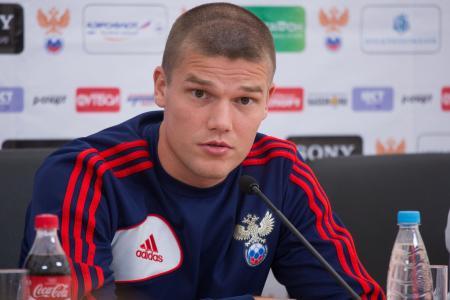 俄罗斯国家队队长伊戈尔·杰尼索夫