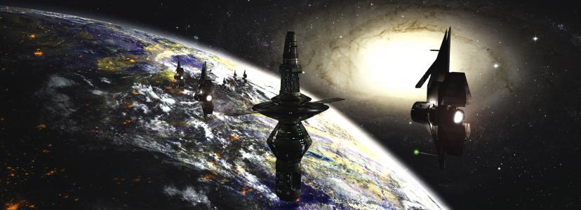 行星,太空飞船