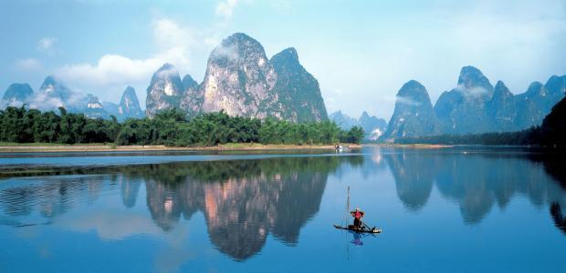 美丽的桂林漓江