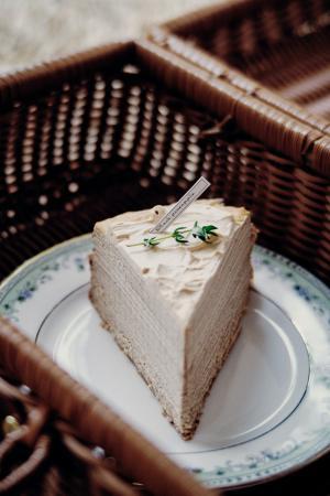 美味的蛋糕微信背景