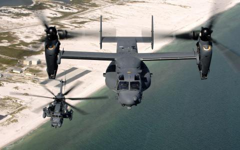 Convertoplane和直升机