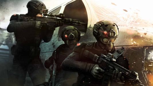 彩虹六号游戏中的士兵