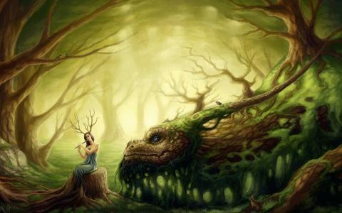 森林童话和龙