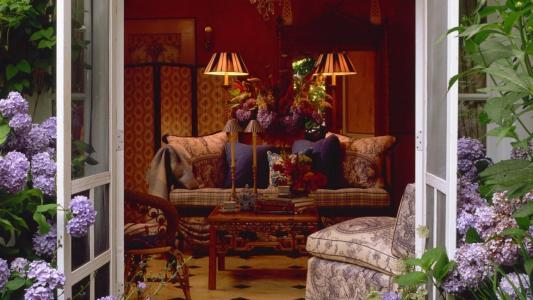 客厅的内部