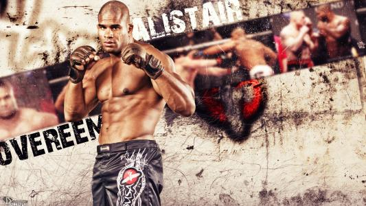 UFC战斗机Alistair Overeem