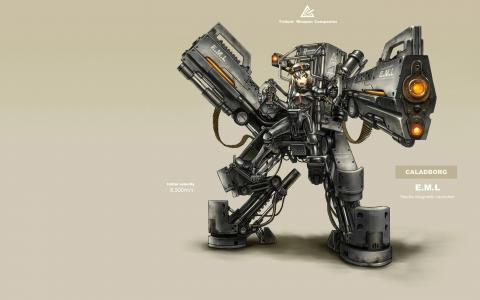 强大的机器人吉亚动漫