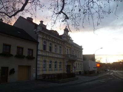 古代建筑在奥地利海因贝格镇