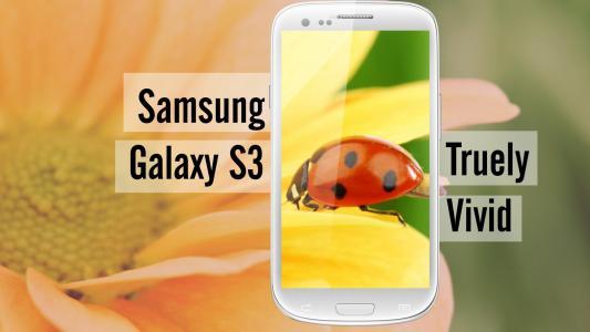 三星Galaxy S3,美丽的图片