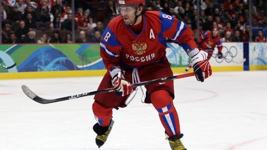 着名的俄罗斯运动员亚历山大·奥维奇金