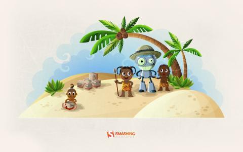 机器人在非洲