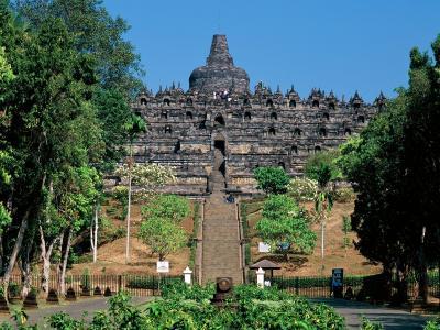 婆罗浮屠/ Java /印度尼西亚
