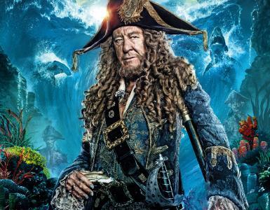 巴博沙队长是加勒比海盗电影的角色。