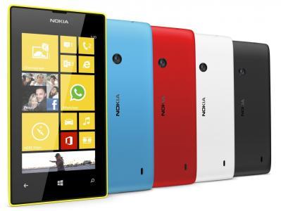诺基亚Lumia 520,所有的颜色