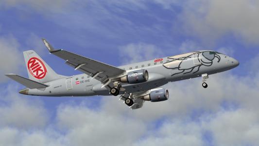巴西航空工业公司170奥地利航空公司Nikifly