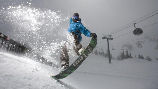 冬季运动滑雪板