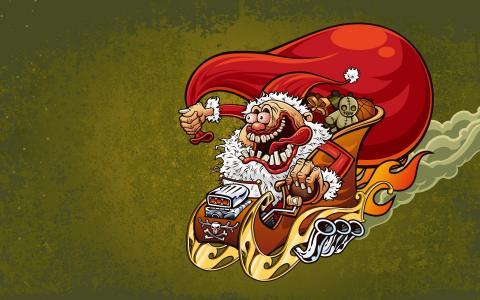 疯狂的圣诞老人
