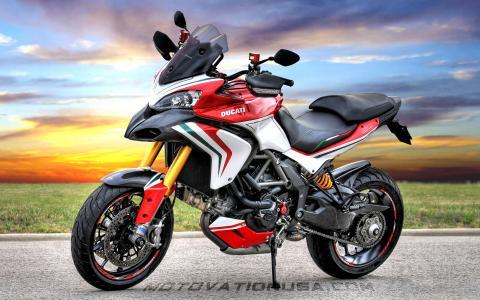 摩托车模型杜卡迪Multistrada 1200