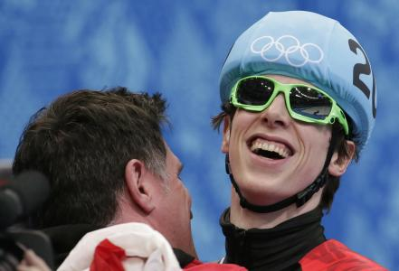 来自加拿大2014年索契奥运会铜牌的Charlie Kornayer