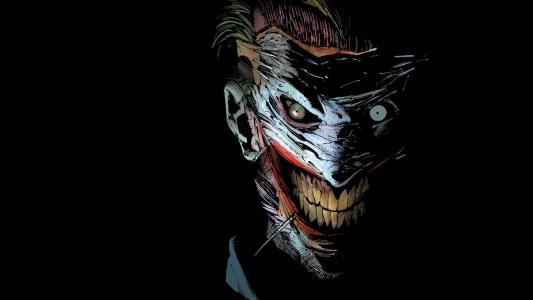 微笑,DC漫画,小丑,赛博朋克