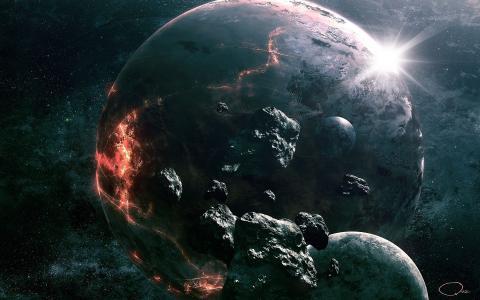 地球上的裂缝