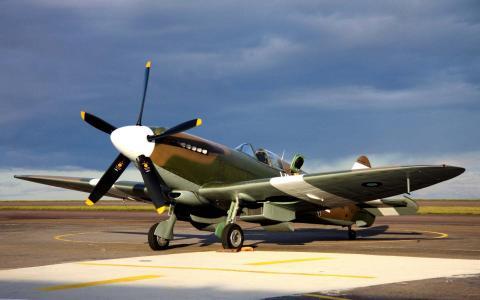 英国复古飞机