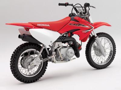 一个可靠的摩托车本田CRF 110 F