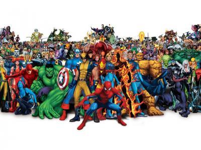 所有的卡通人物