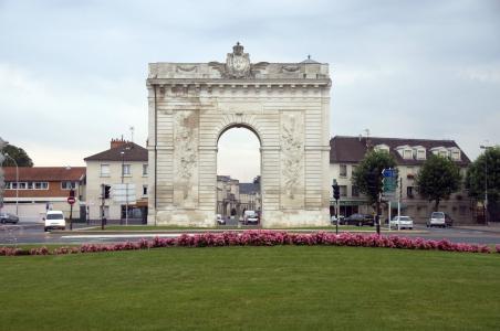 香槟,法国的拱门