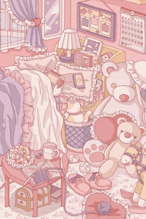童话般浪漫的房间