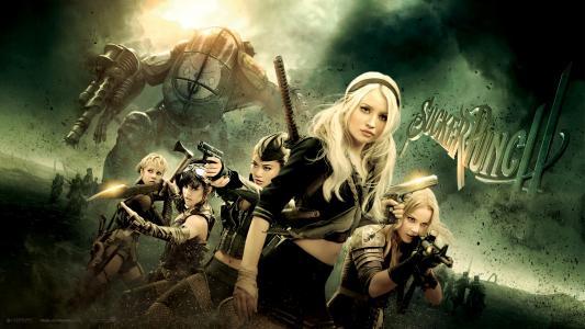 女演员与电影中的武器