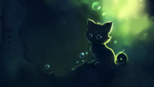 小猫,DeviantART,Apofiss