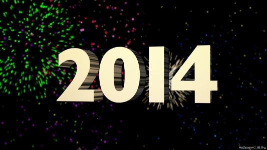 新的一年2014年