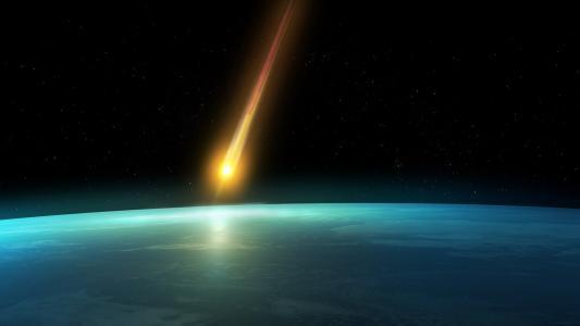 彗星进入了这个星球的气氛