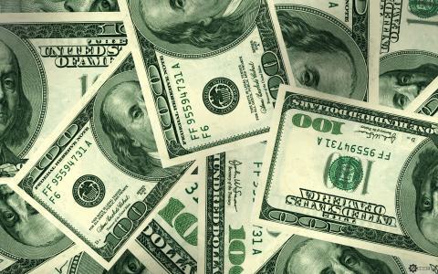 与美元的壁纸