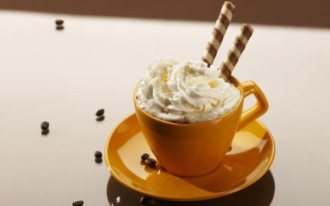 咖啡与奶油