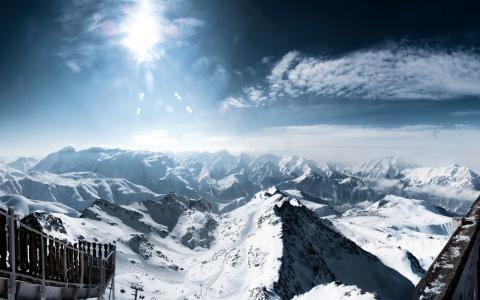 法国阿尔卑斯山