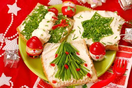 节日三明治新的一年