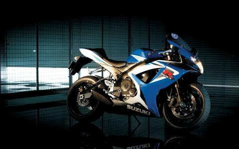 摩托车铃木gsx r750