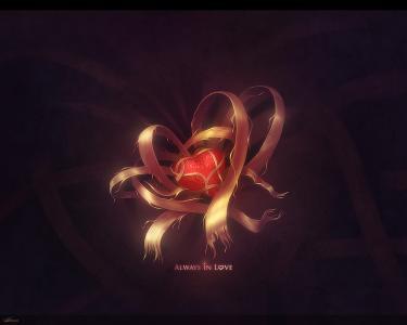 撕裂丝带的心脏