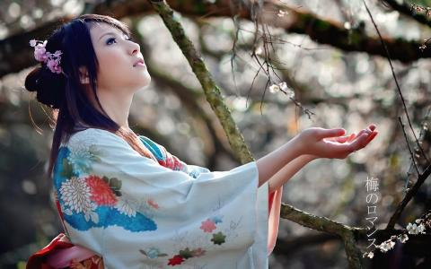 日本人遇见春天