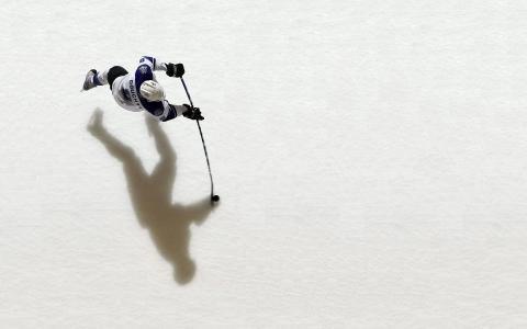洛杉矶曲棍球运动员德鲁Doughty