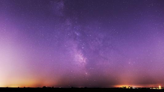 一个美丽的银河系