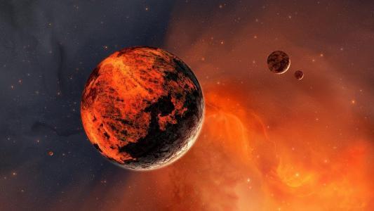 红色行星火星