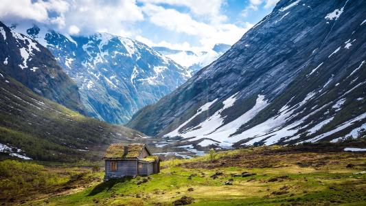 挪威的夏天