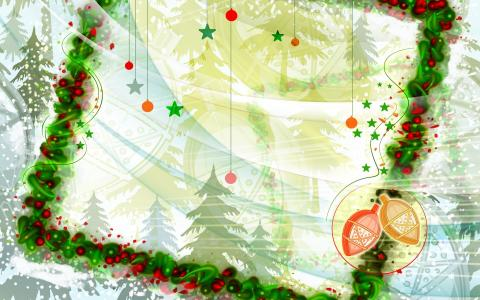 冬天圣诞节模式