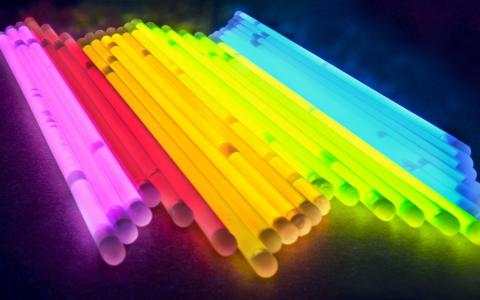 发光棒不同的颜色